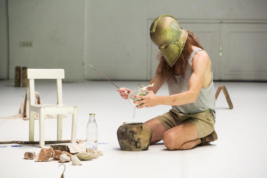 Matija Ferlin: Staging a Play: ANTIGONA